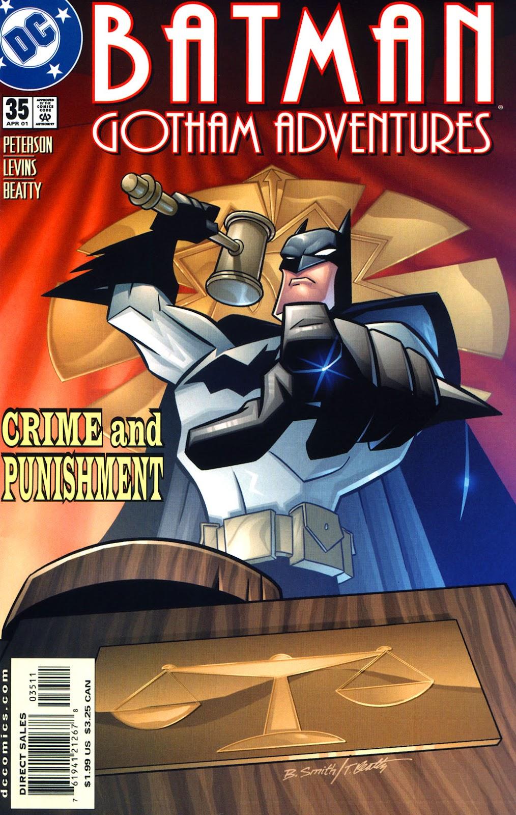 Batman: Gotham Adventures issue 35 - Page 1