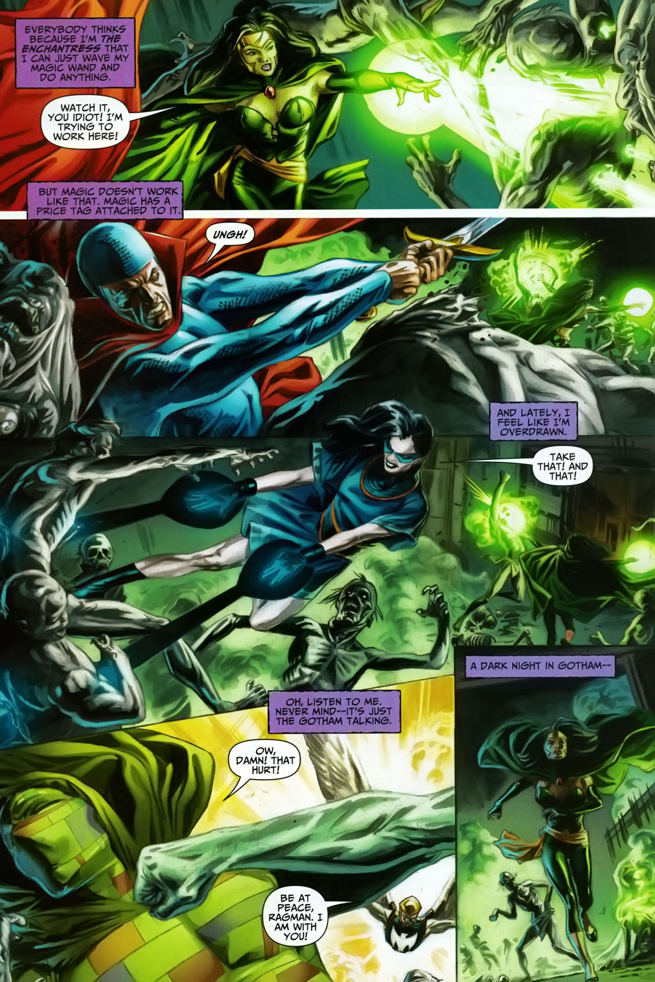 Read online Shadowpact comic -  Issue #17 - 4