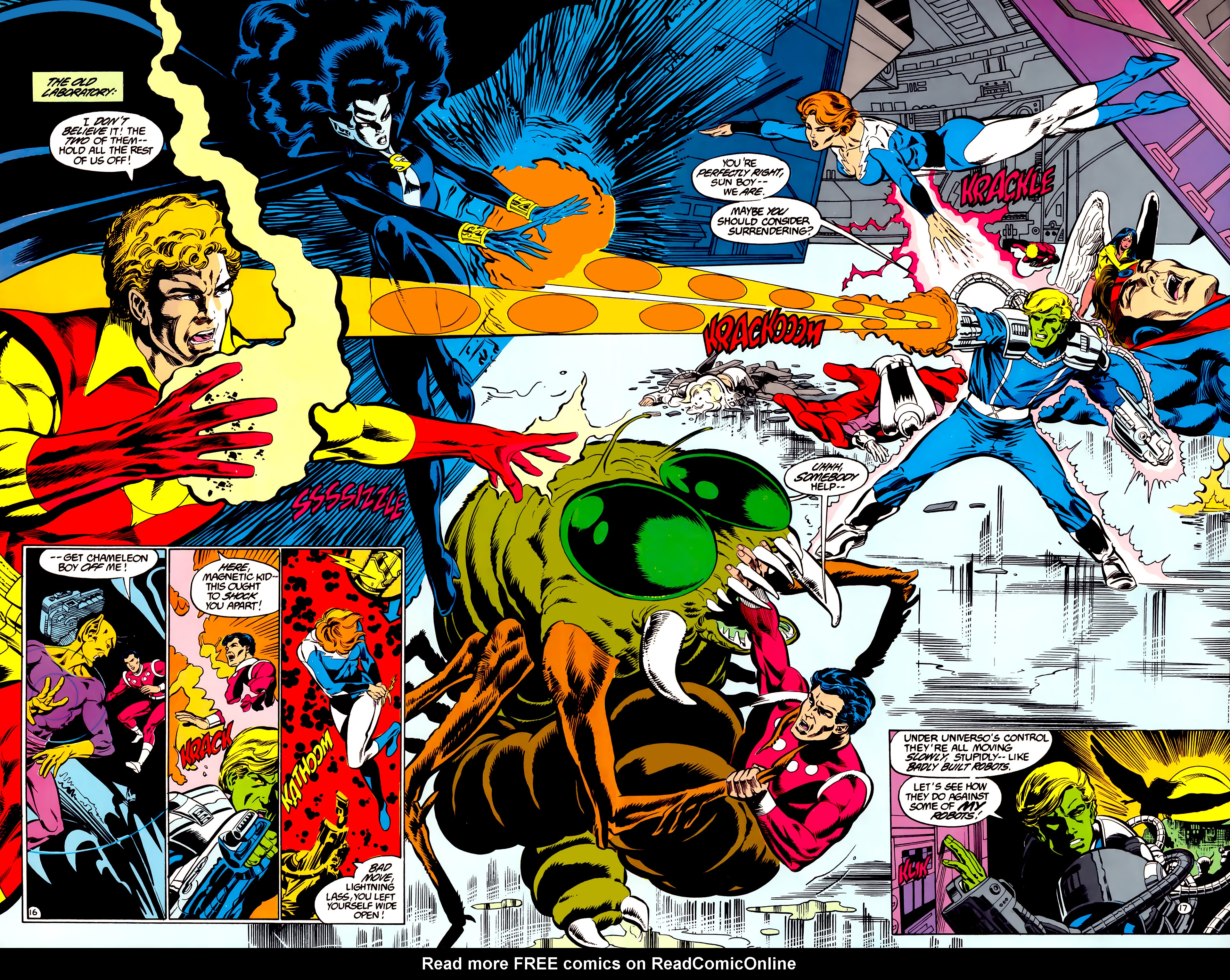 Legion of Super-Heroes (1984) 35 Page 16