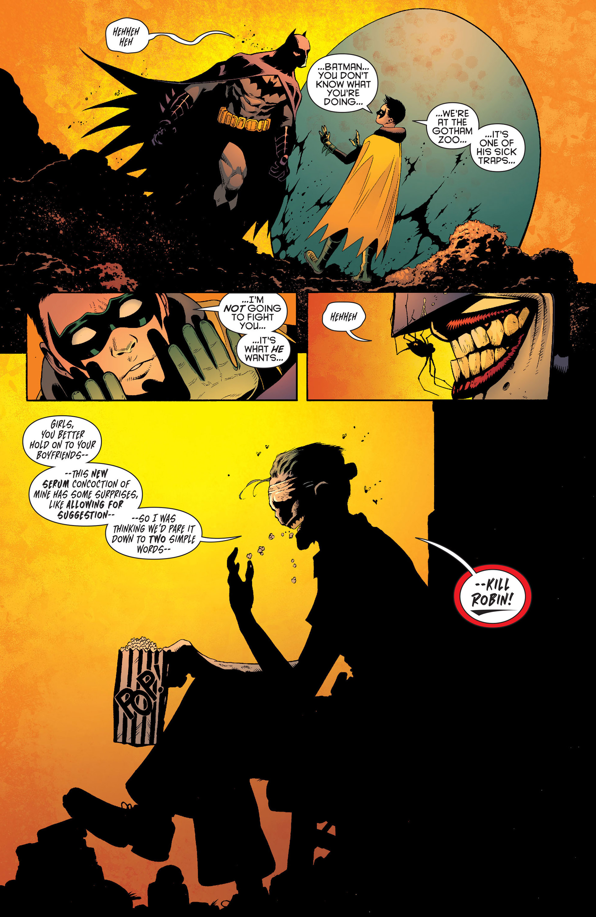Read online Batman and Robin (2011) comic -  Issue #16 - 4