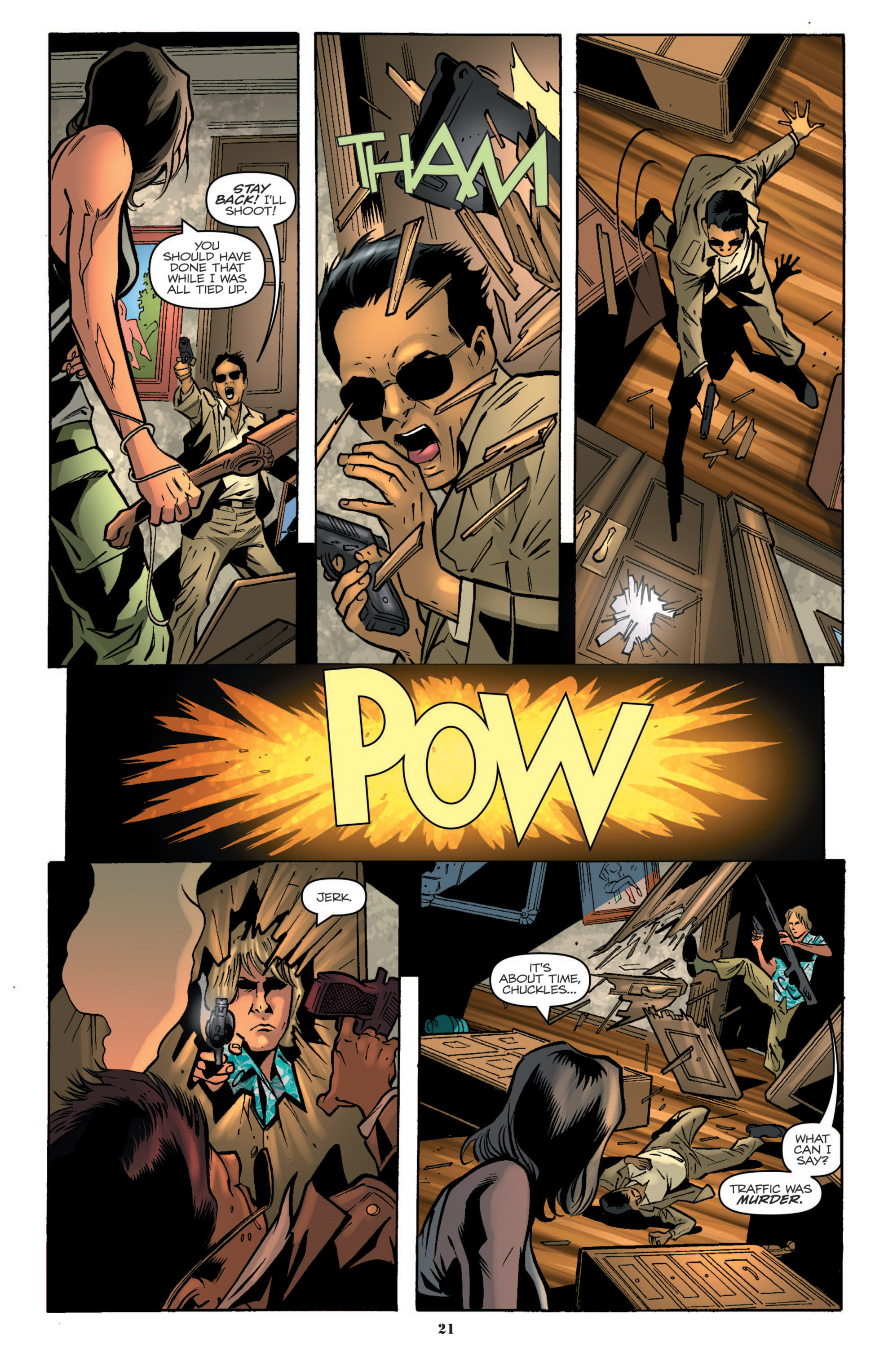 G.I. Joe: A Real American Hero 191 Page 22