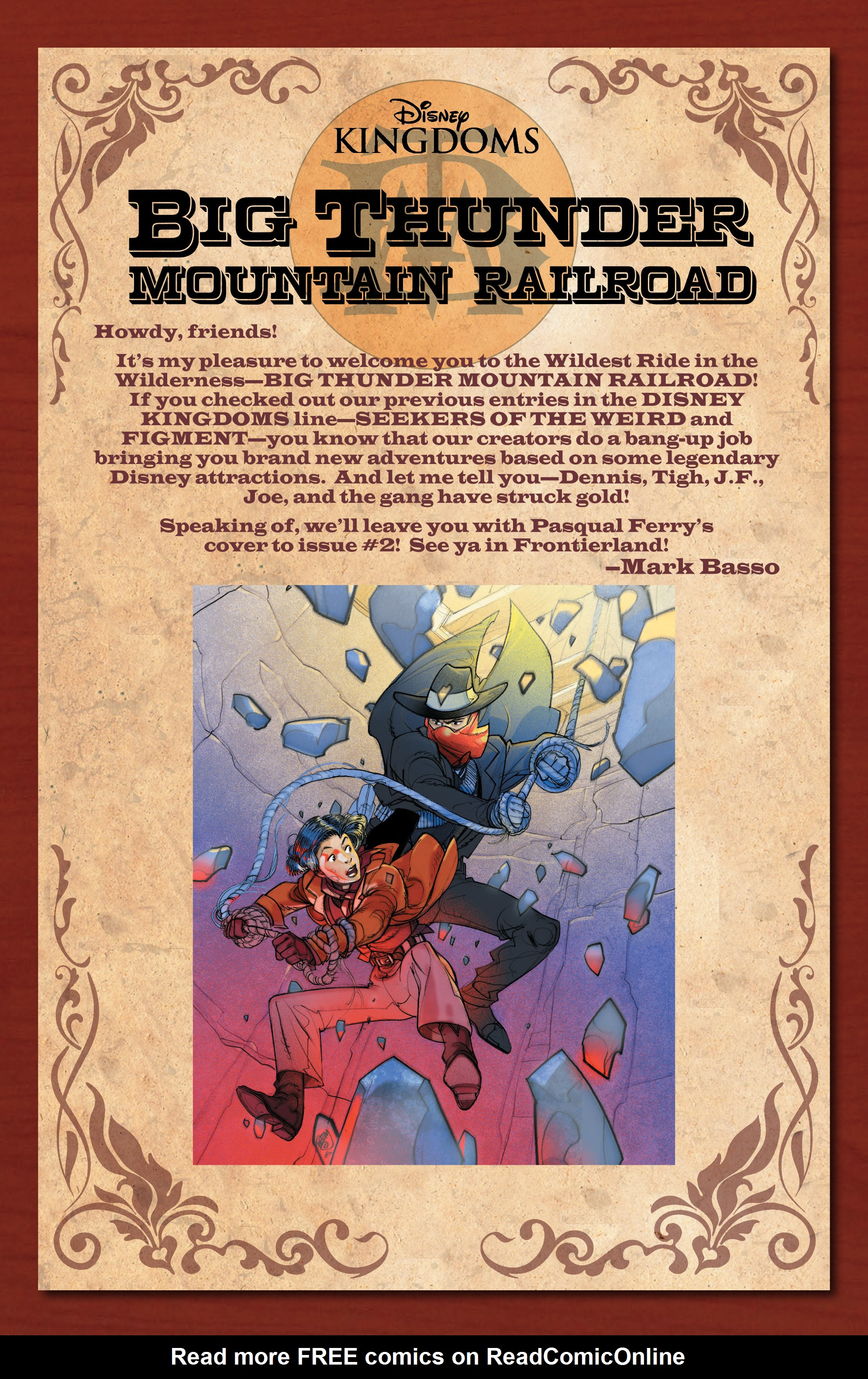 Read online Big Thunder Mountain Railroad comic -  Issue #1 - 27