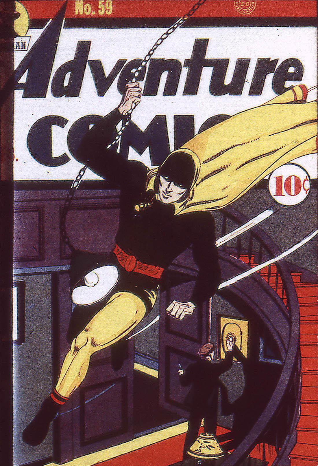 Read online Adventure Comics (1938) comic -  Issue #59 - 2
