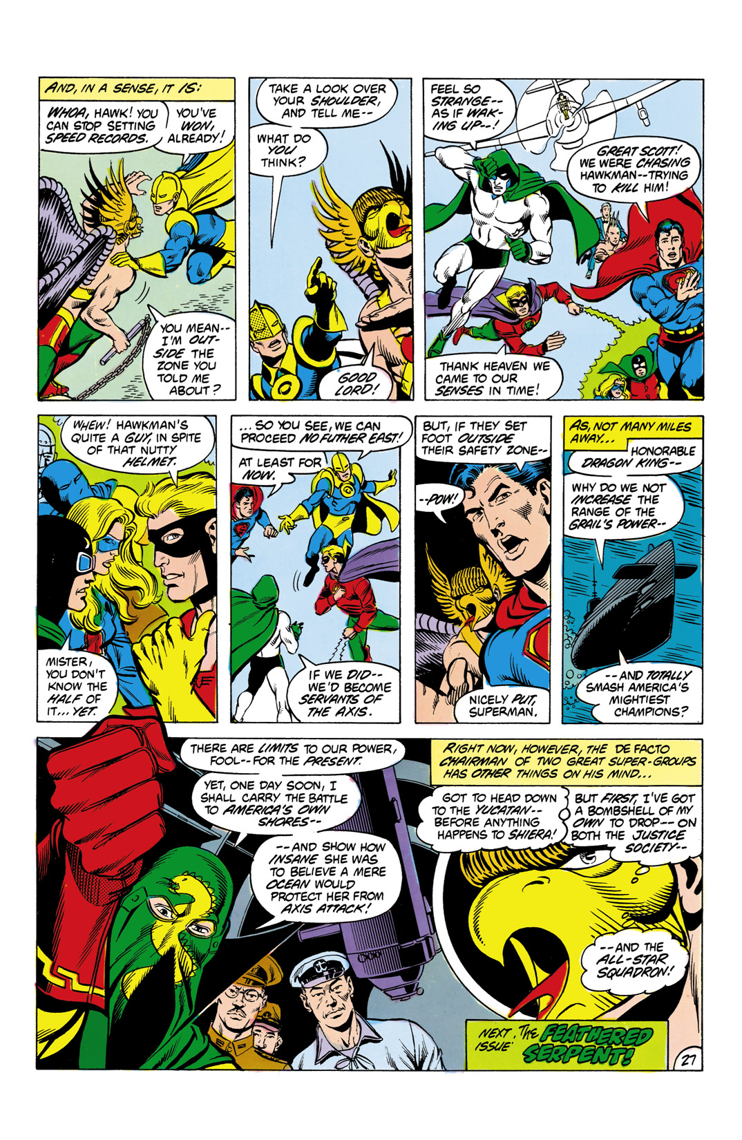 Read online All-Star Squadron comic -  Issue #4 - 28