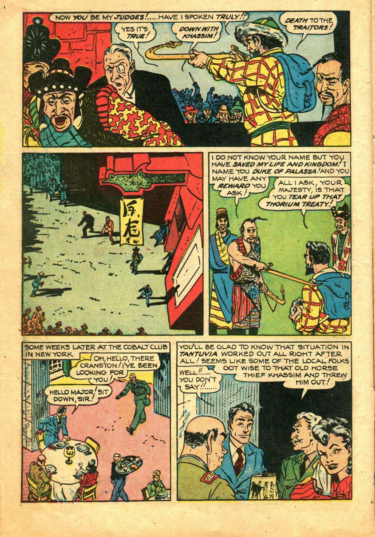Read online Shadow Comics comic -  Issue #78 - 14