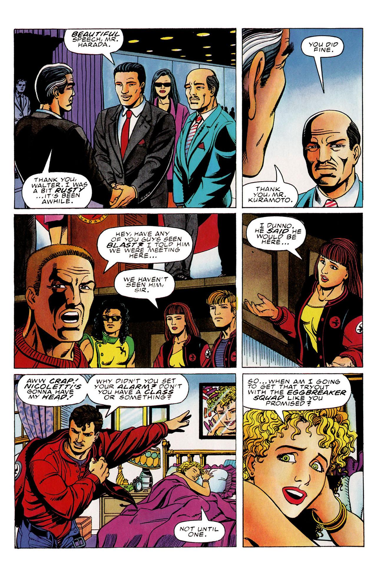 Read online Harbinger (1992) comic -  Issue #31 - 5