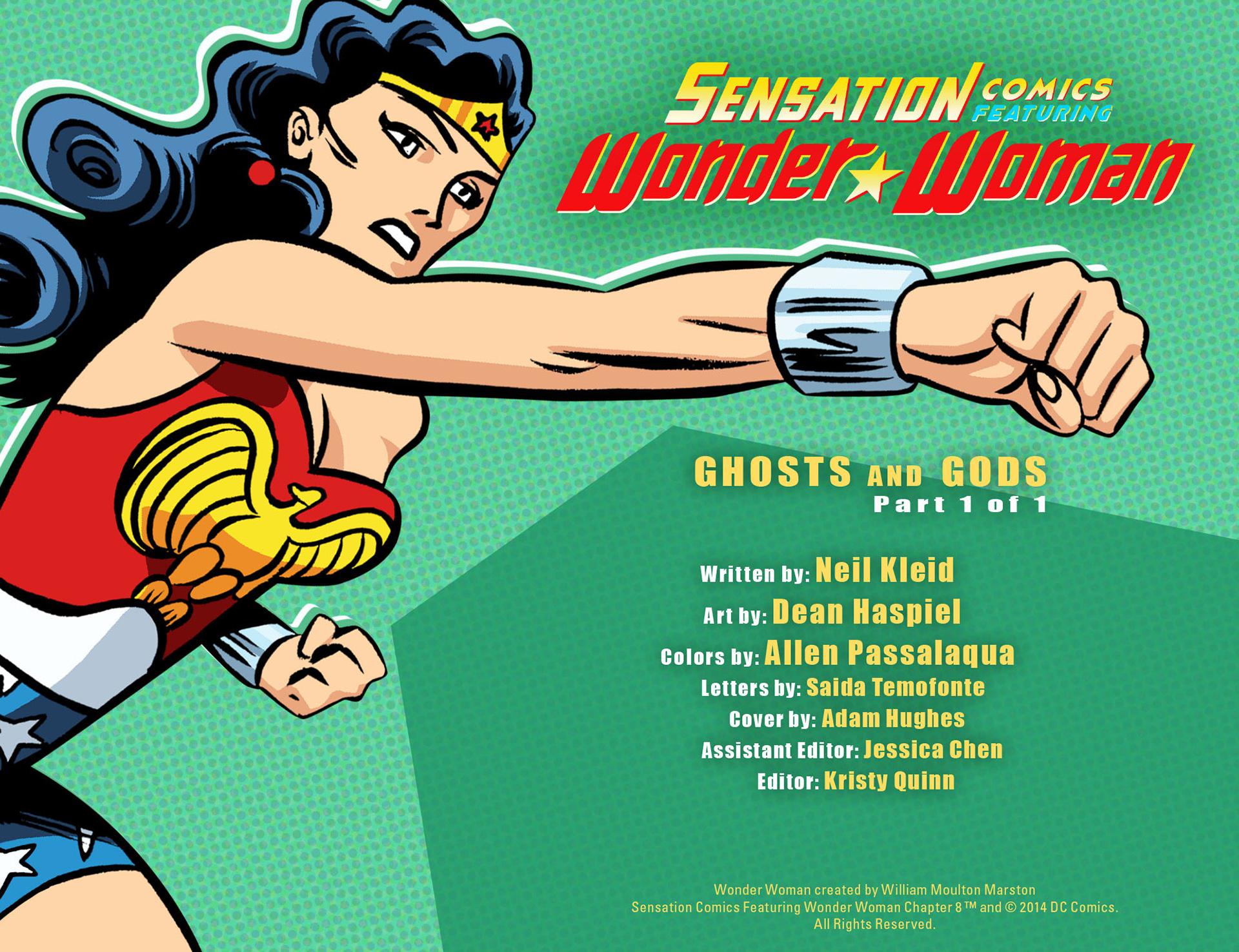 Read online Sensation Comics Featuring Wonder Woman comic -  Issue #8 - 2
