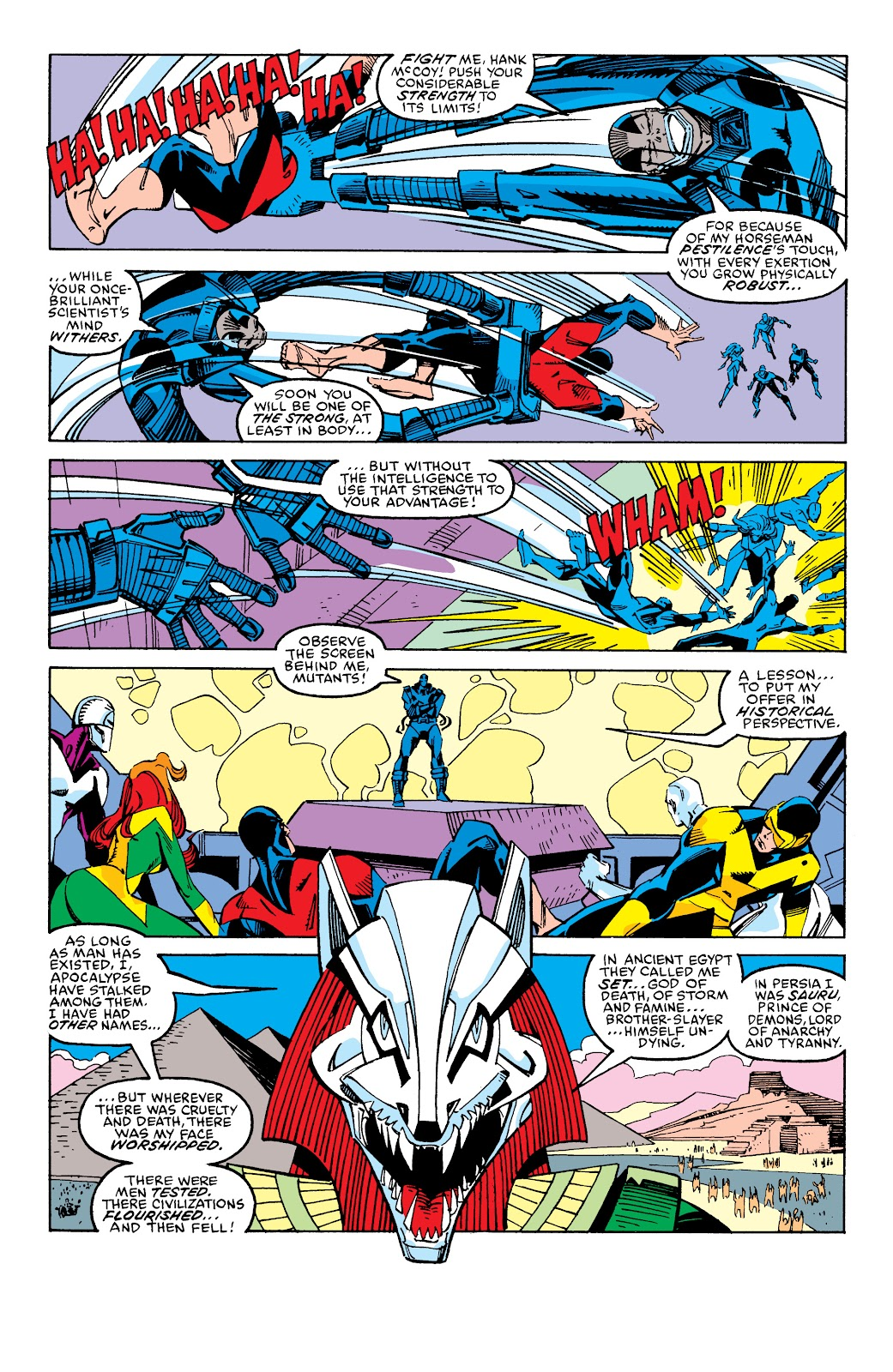 Read online X-Men Milestones: Fall of the Mutants comic -  Issue # TPB (Part 2) - 85