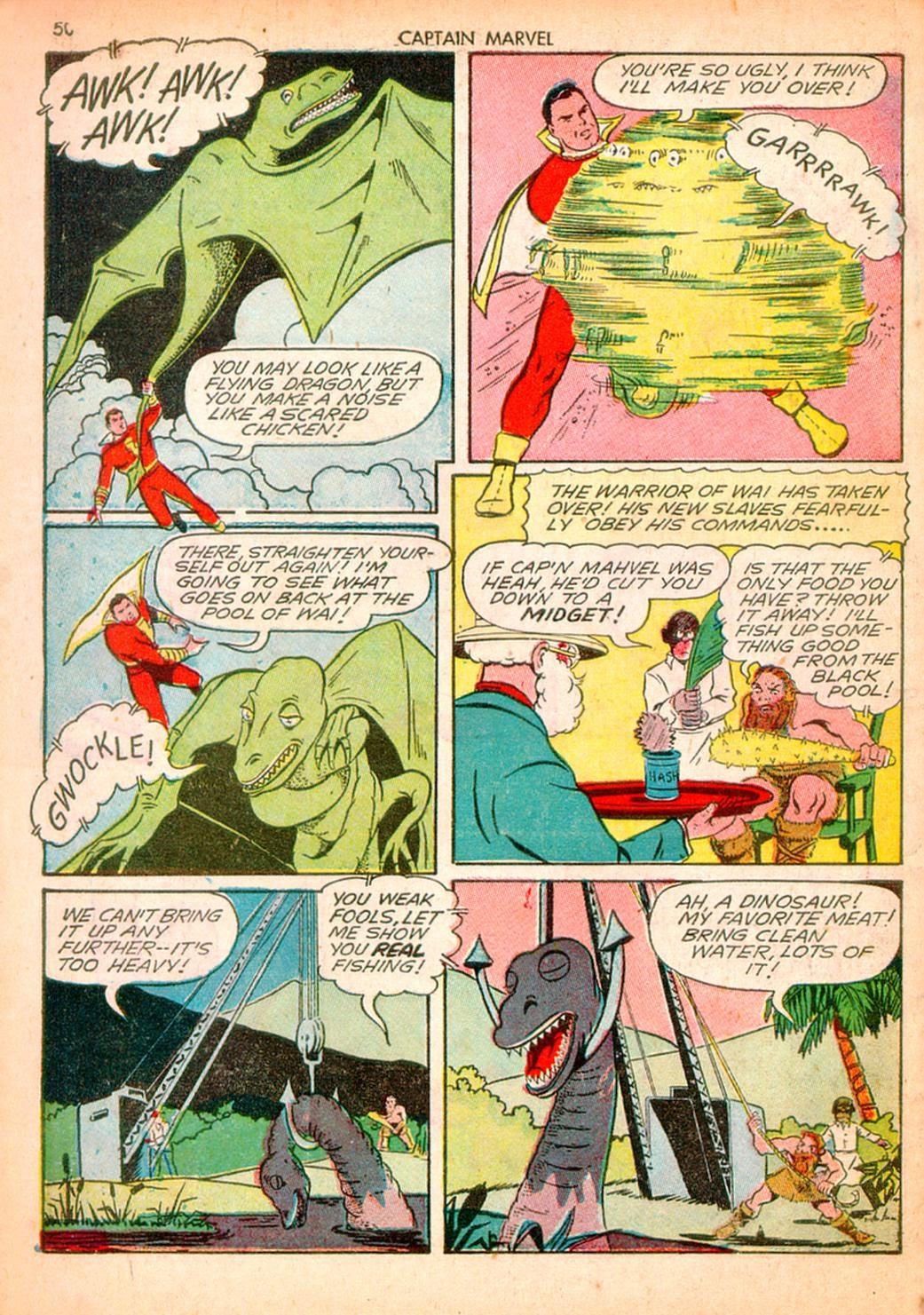 Captain Marvel Adventures issue 10 - Page 50
