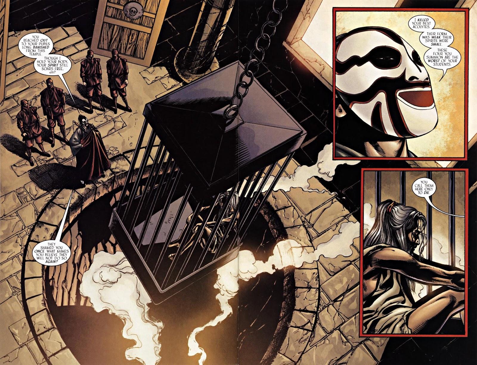Read online Silken Ghost comic -  Issue #2 - 4