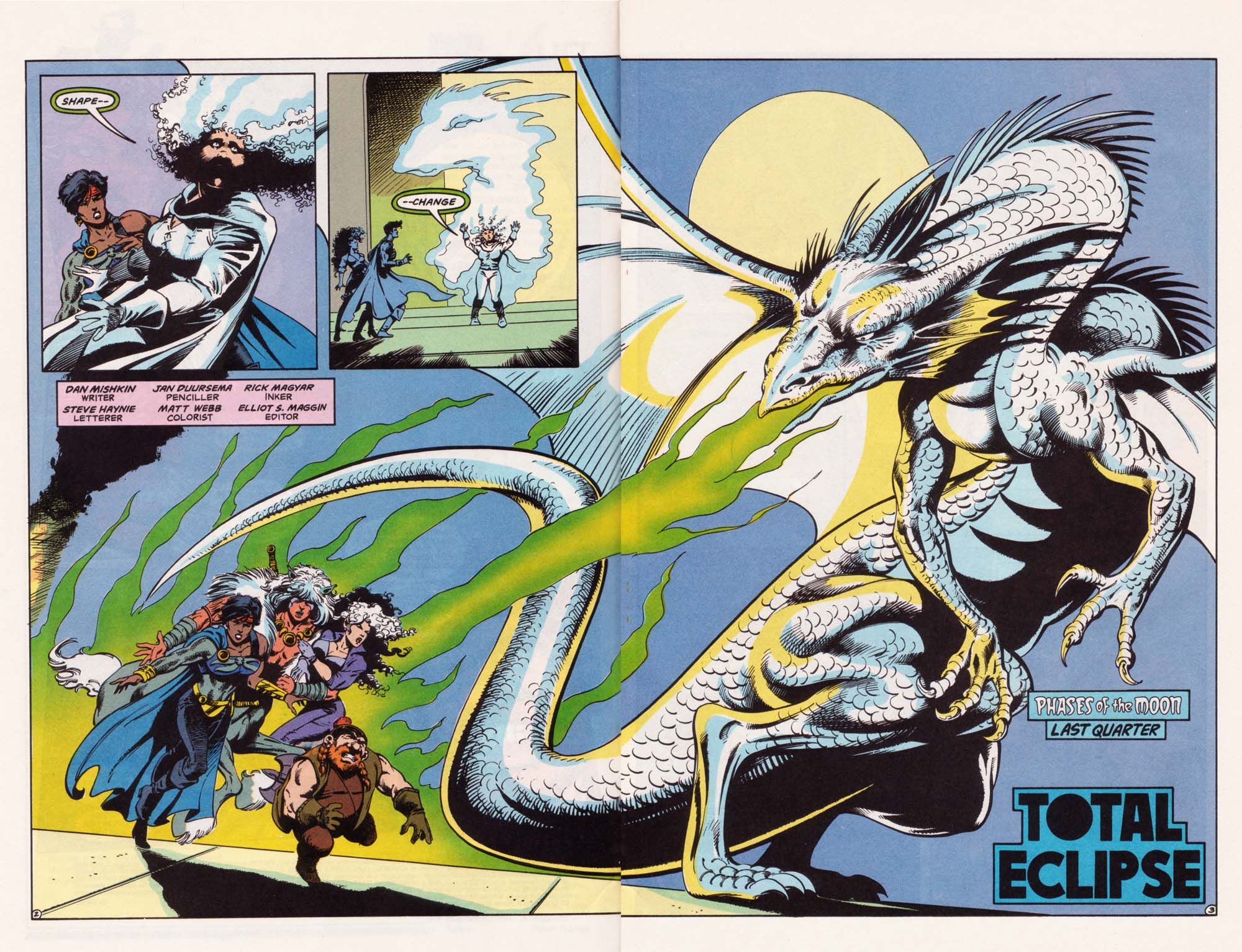 Read online Advanced Dungeons & Dragons comic -  Issue #22 - 3