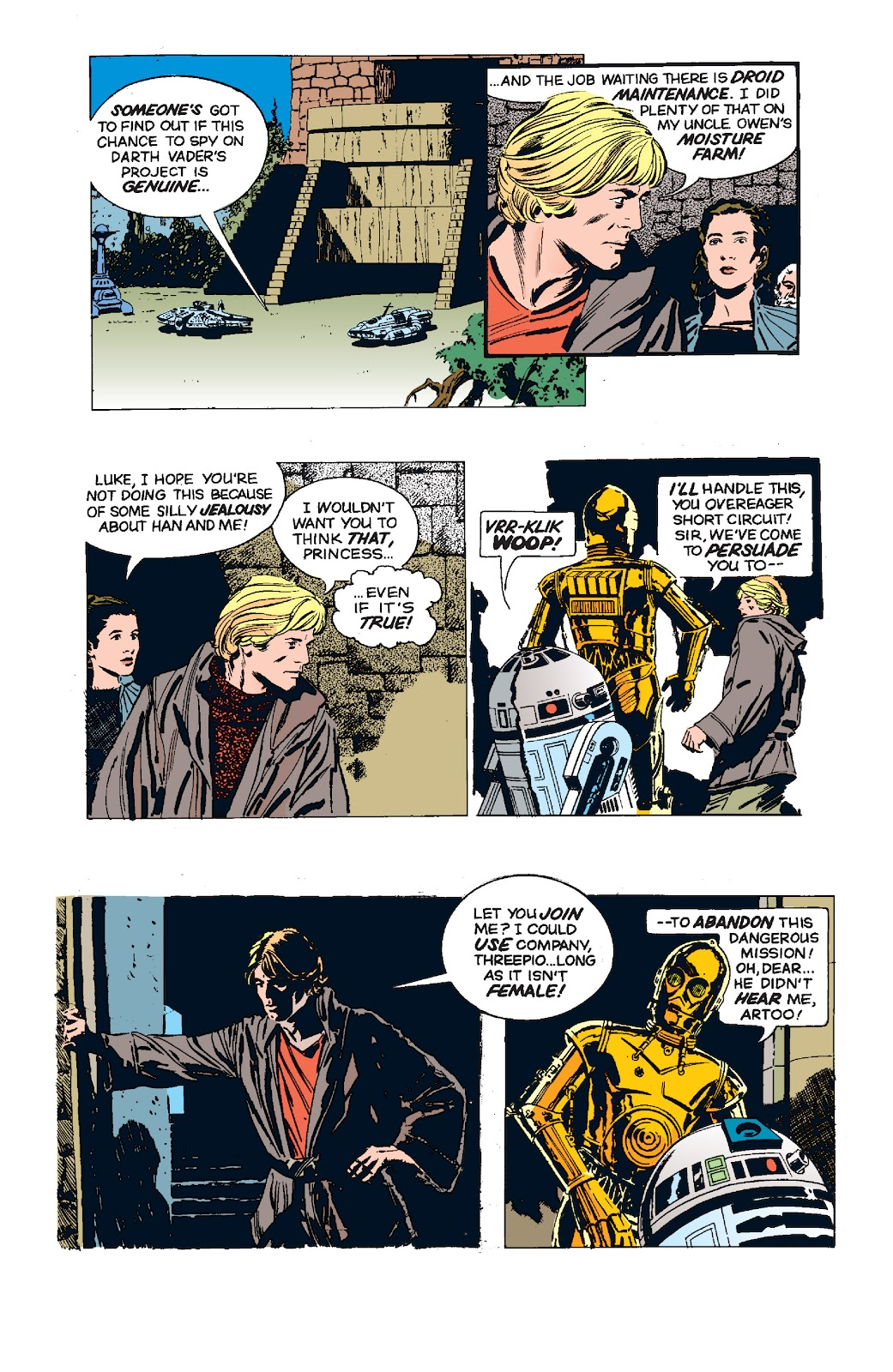 Read online Star Wars Legends: The Newspaper Strips - Epic Collection comic -  Issue # TPB (Part 5) - 38