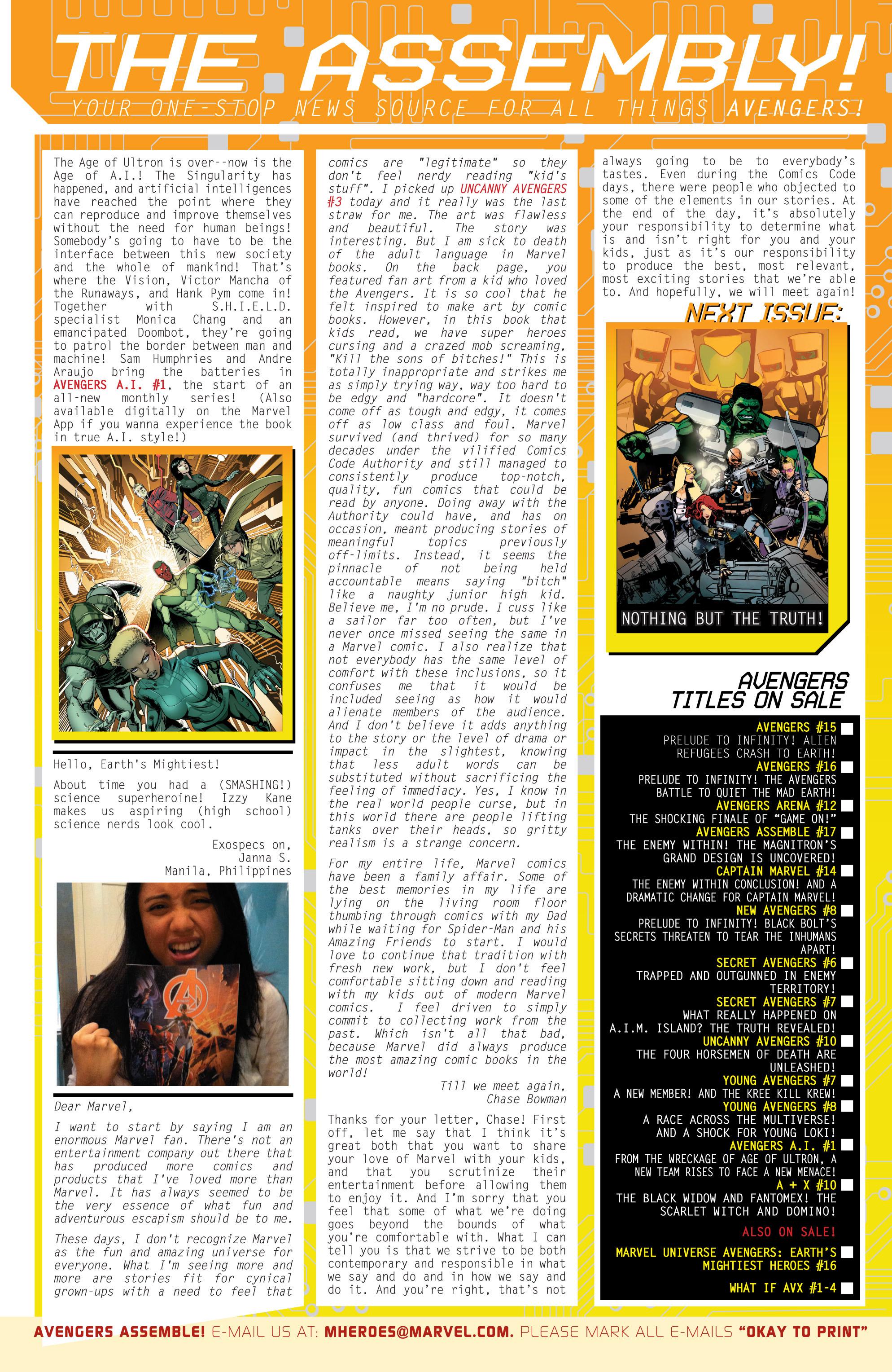 Read online Secret Avengers (2013) comic -  Issue #6 - 23