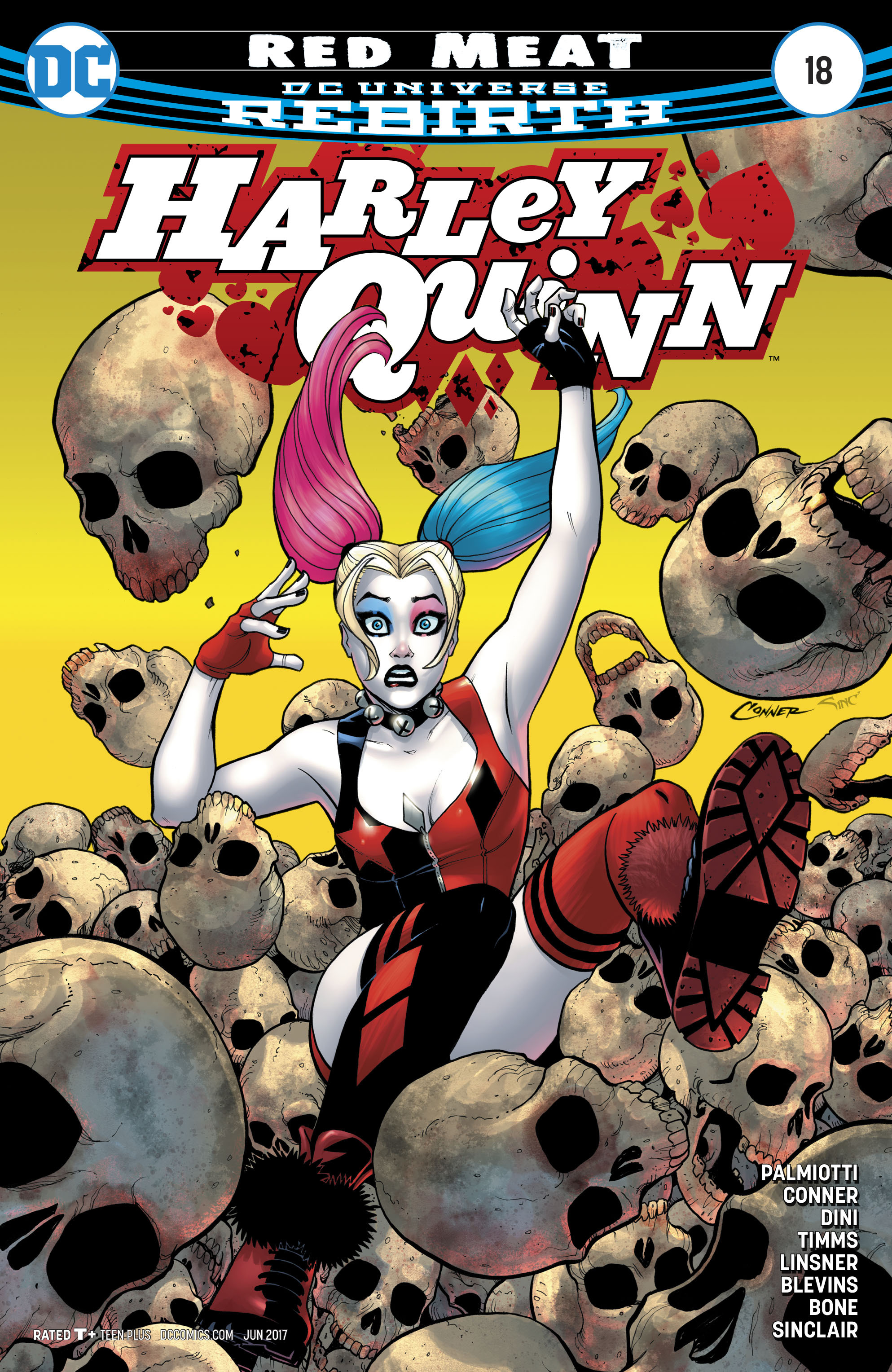 Harley Quinn (2016) 18 Page 1