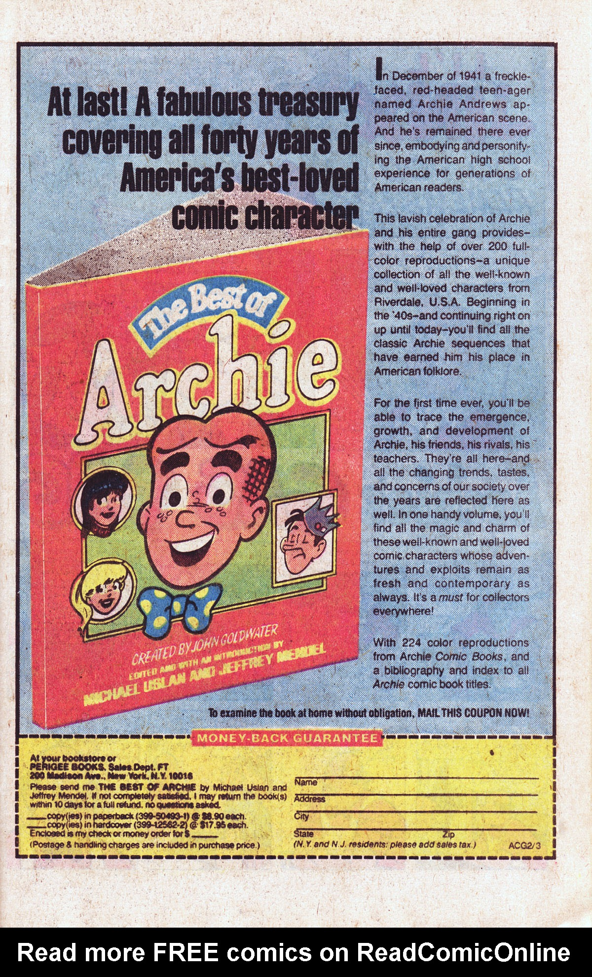 Read online Archie (1960) comic -  Issue #301 - 9