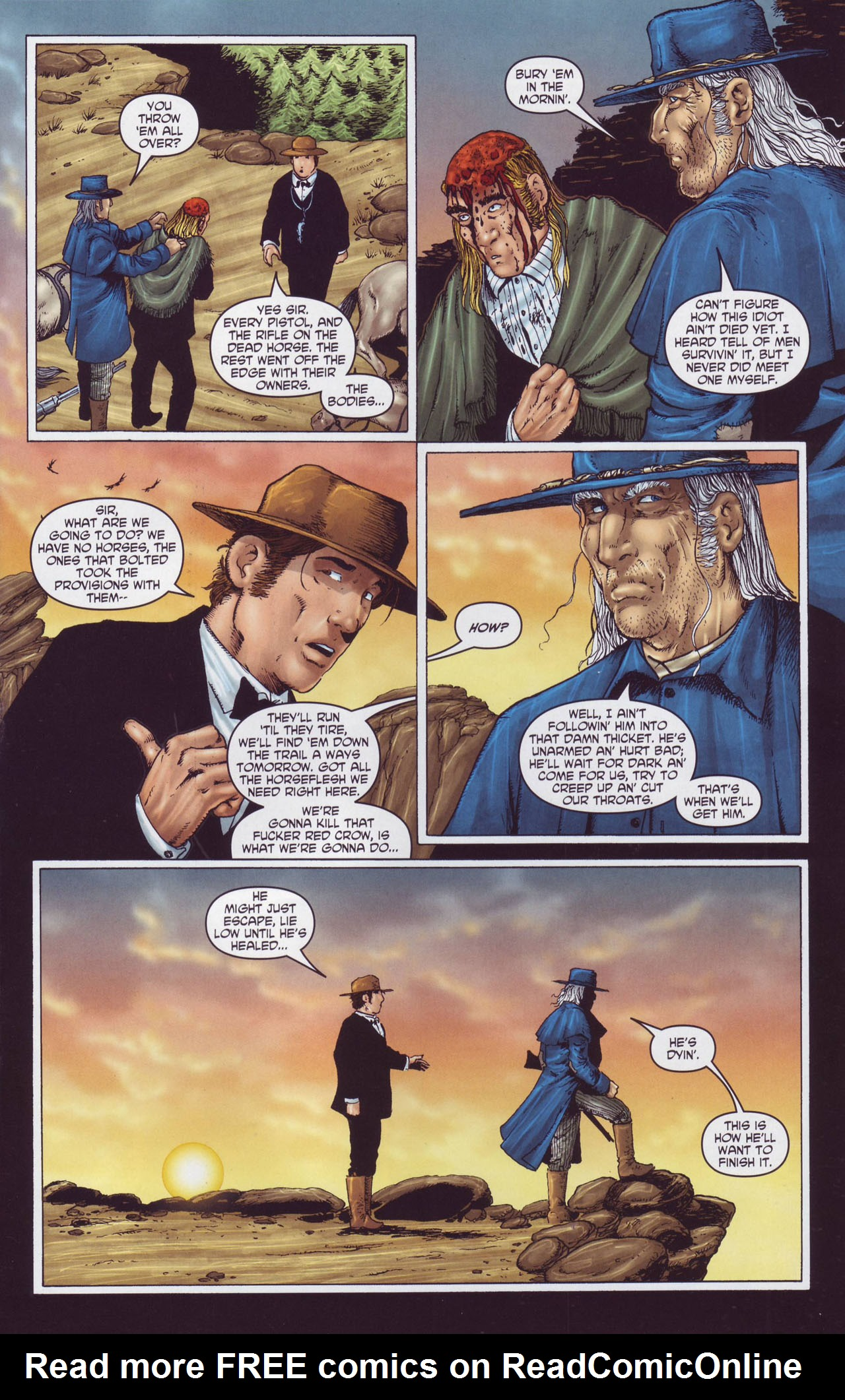 Read online Garth Ennis' Streets of Glory comic -  Issue #4 - 11