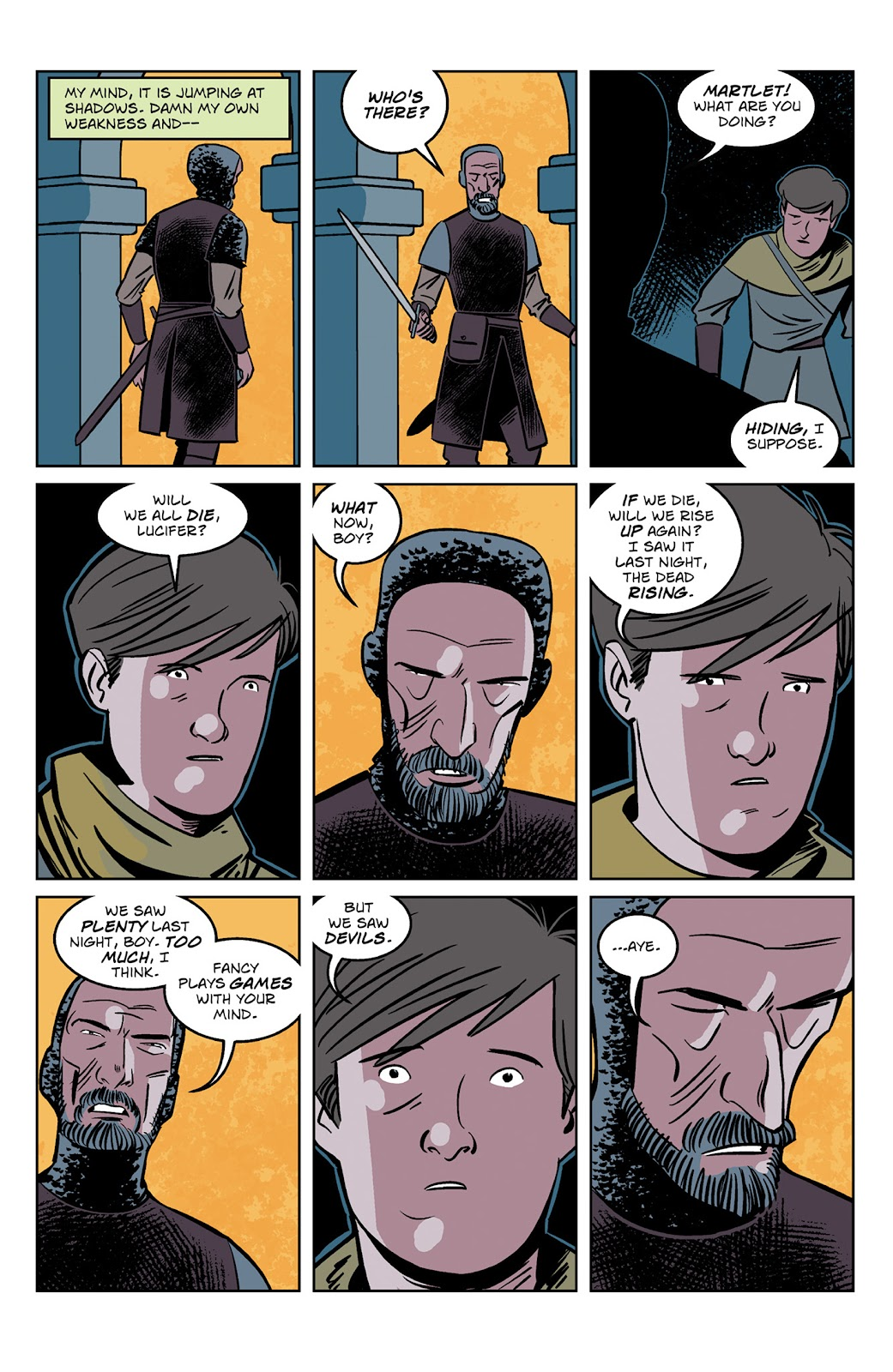 Read online Dark Ages comic -  Issue #2 - 6