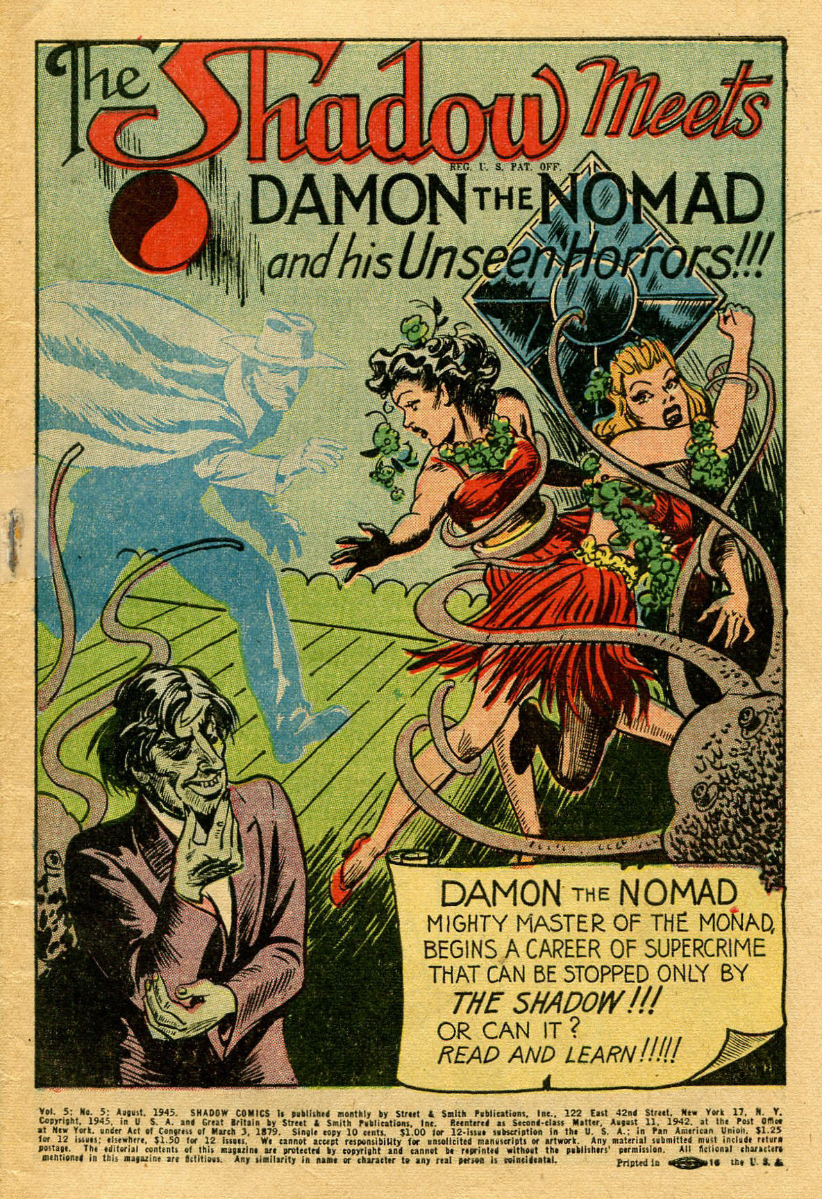 Read online Shadow Comics comic -  Issue #53 - 4