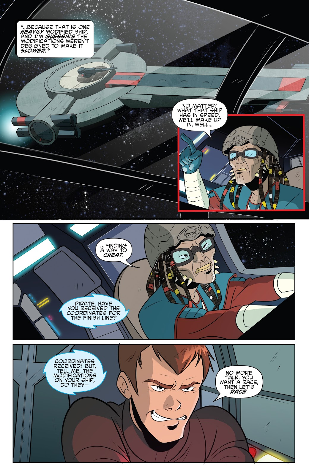 Read online Star Wars Adventures: Flight of the Falcon comic -  Issue # Full - 10