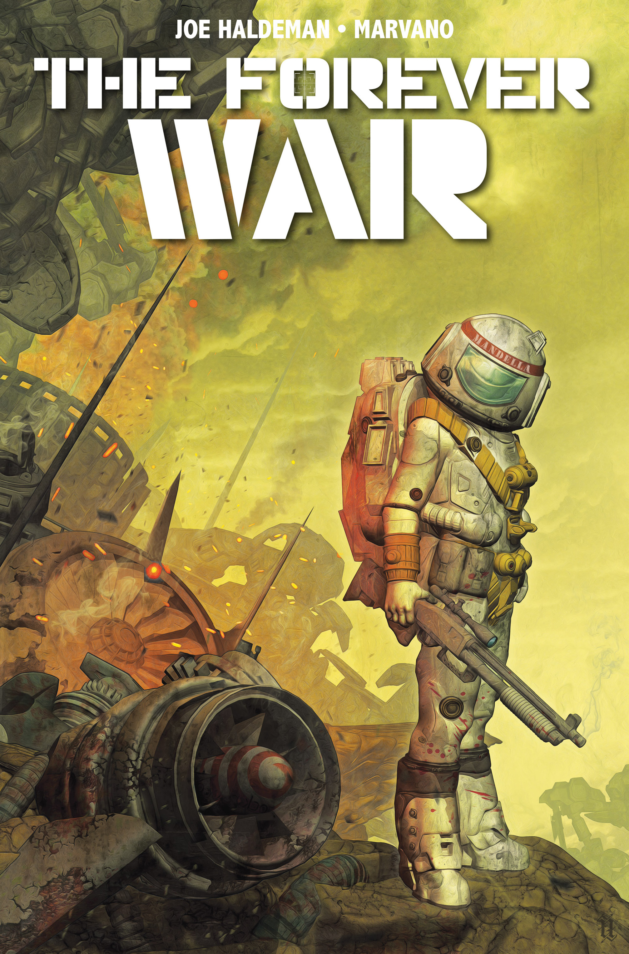 Read online The Forever War (2017) comic -  Issue #4 - 1