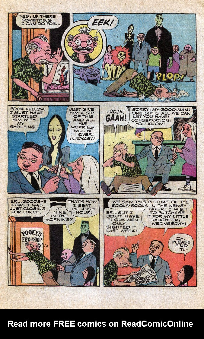 Read online Addams Family comic -  Issue #1 - 36
