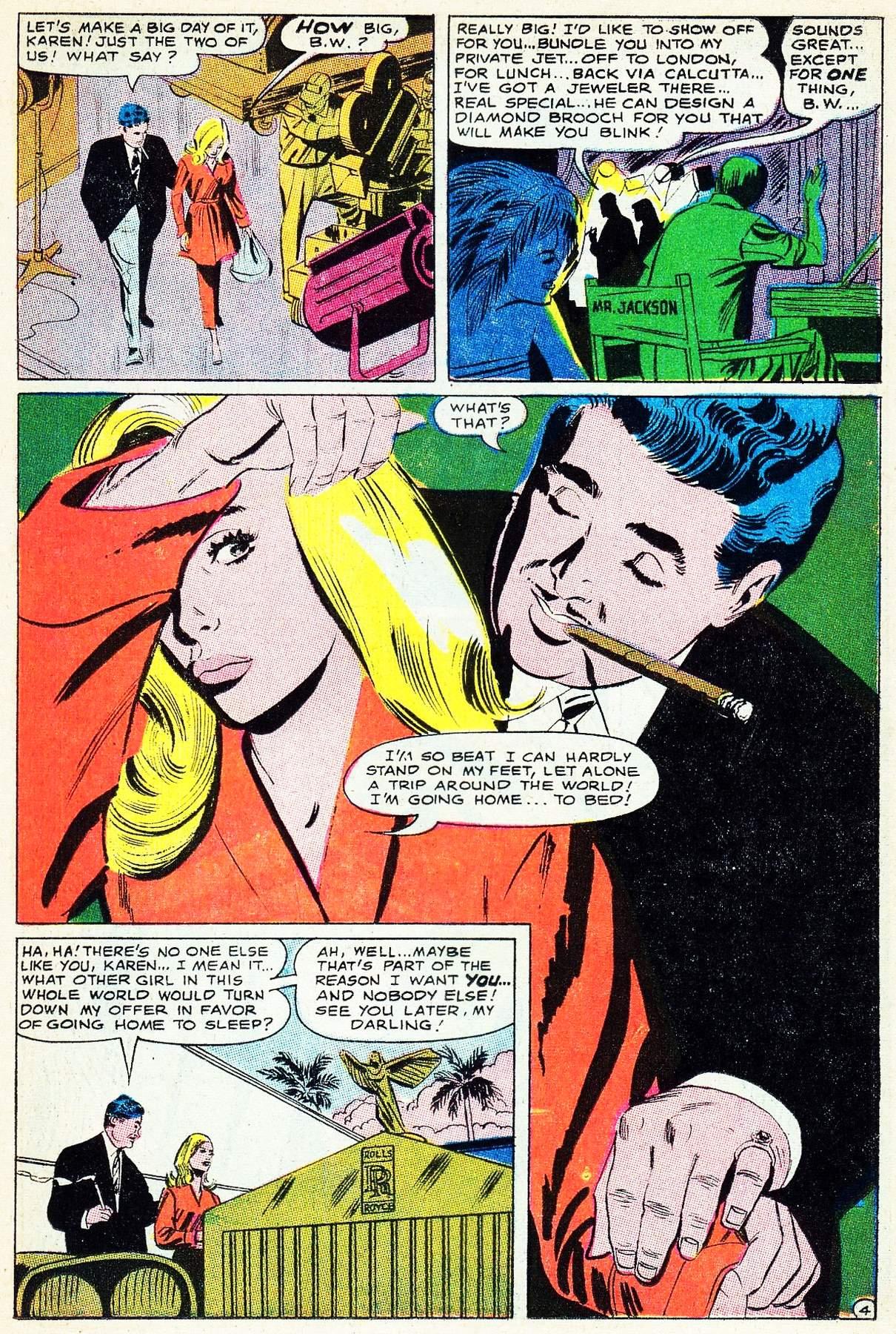 Read online Secret Hearts comic -  Issue #133 - 23