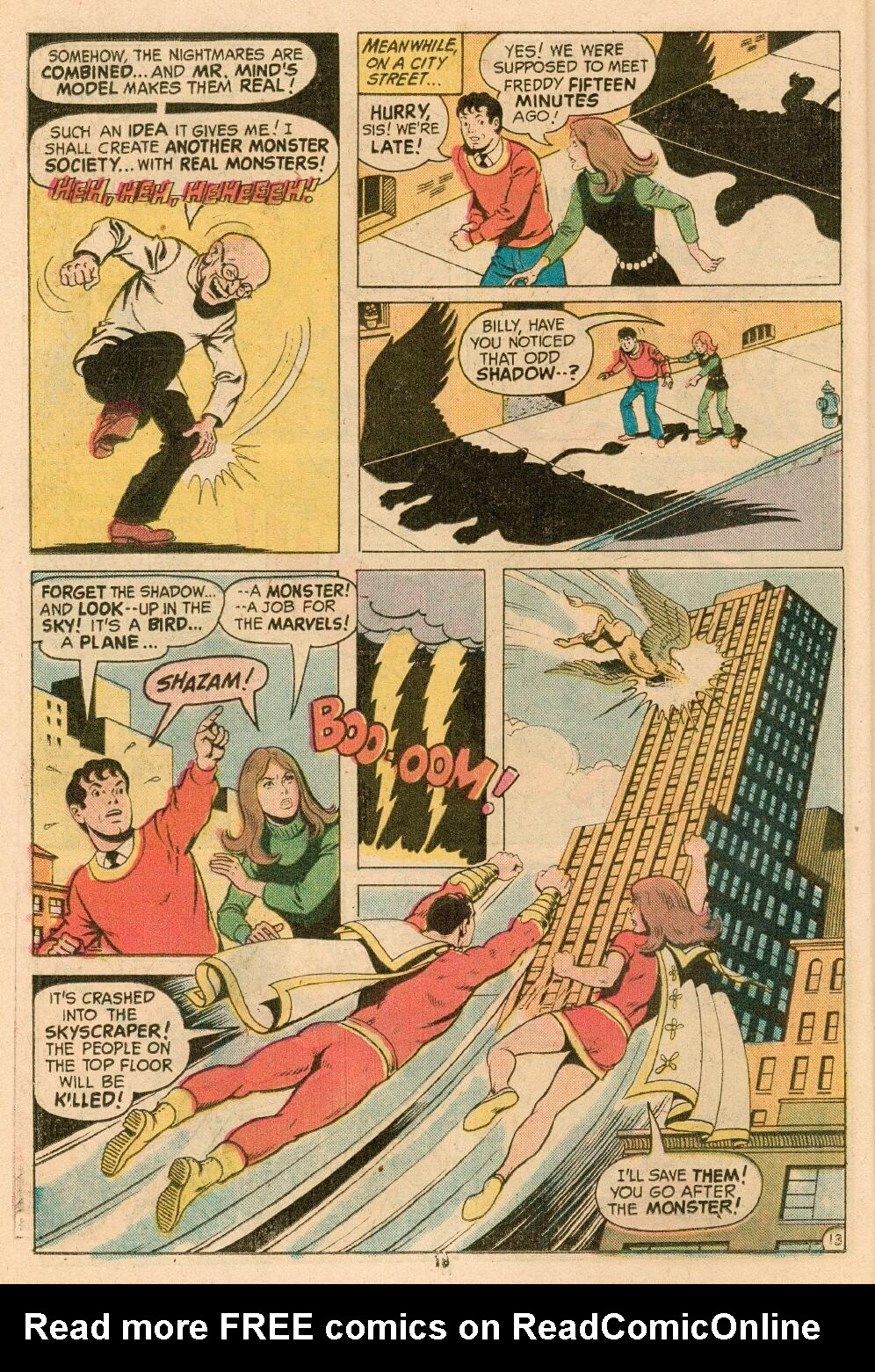 Read online Shazam! (1973) comic -  Issue #14 - 15