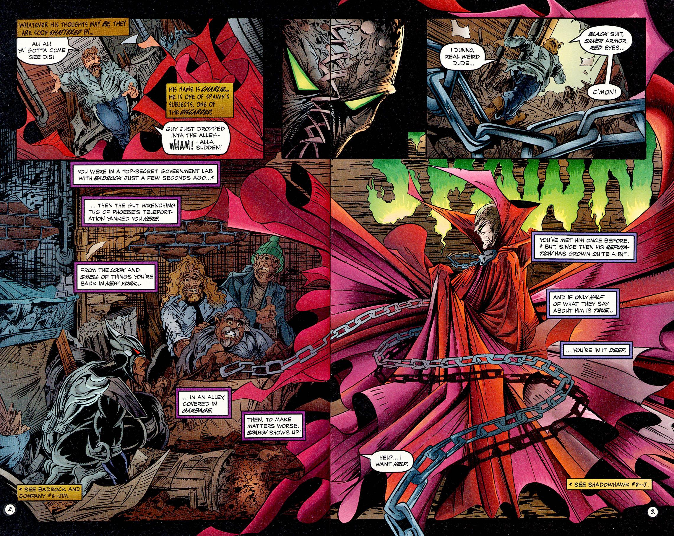 Read online ShadowHawk comic -  Issue #17 - 4