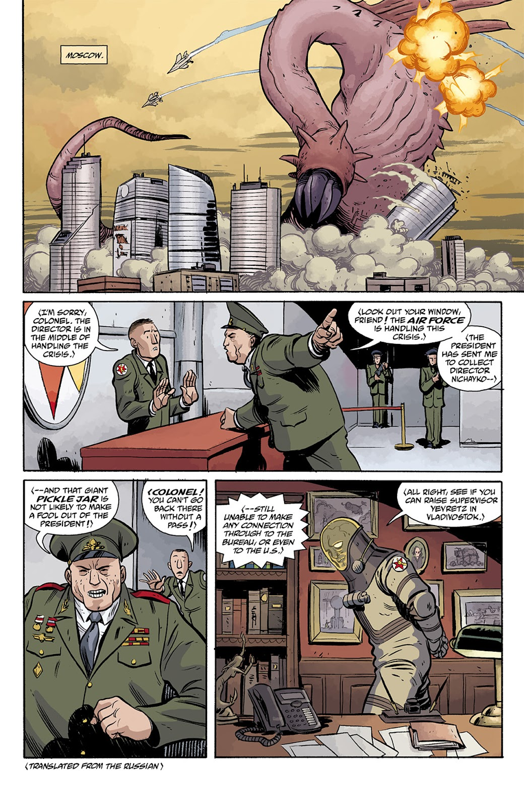 Read online B.P.R.D. Hell on Earth: The Return of the Master comic -  Issue #5 - 19