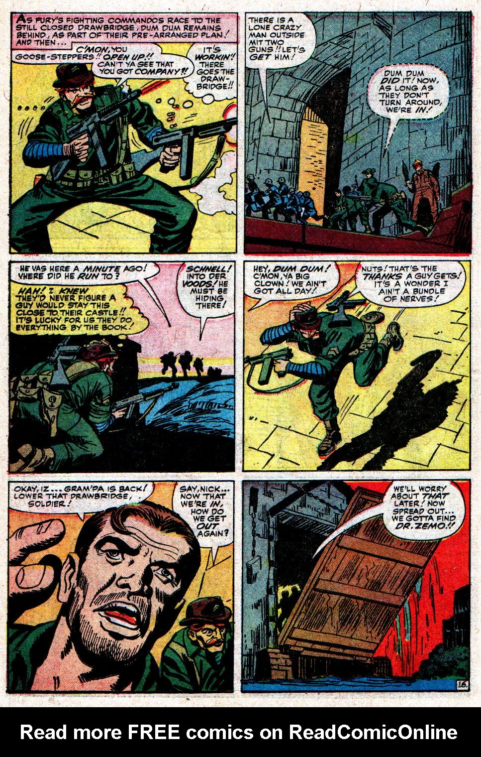 Read online Sgt. Fury comic -  Issue #8 - 22