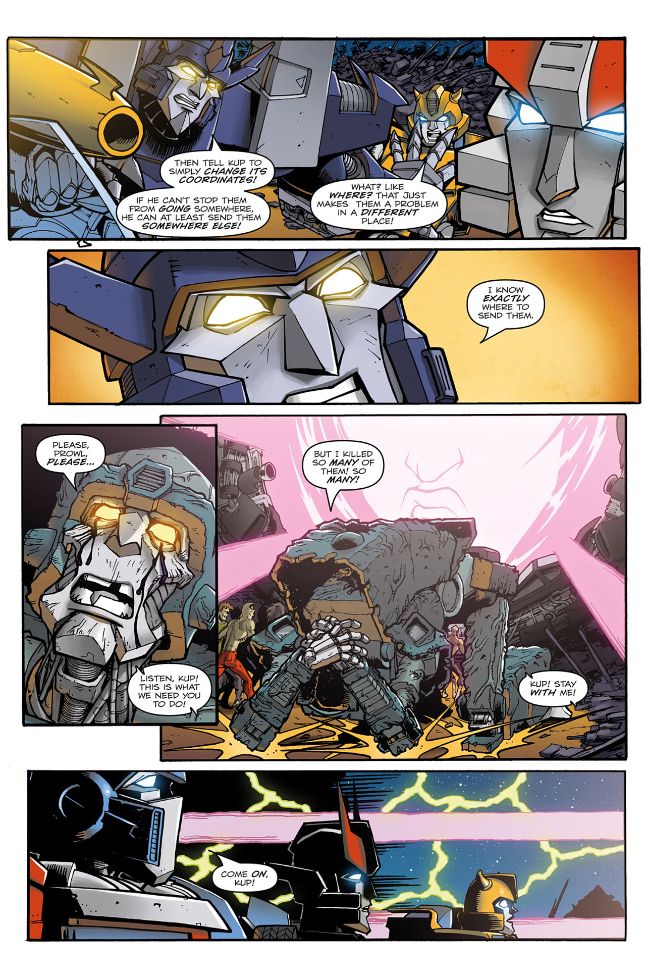 Read online Transformers: Infestation comic -  Issue #2 - 22