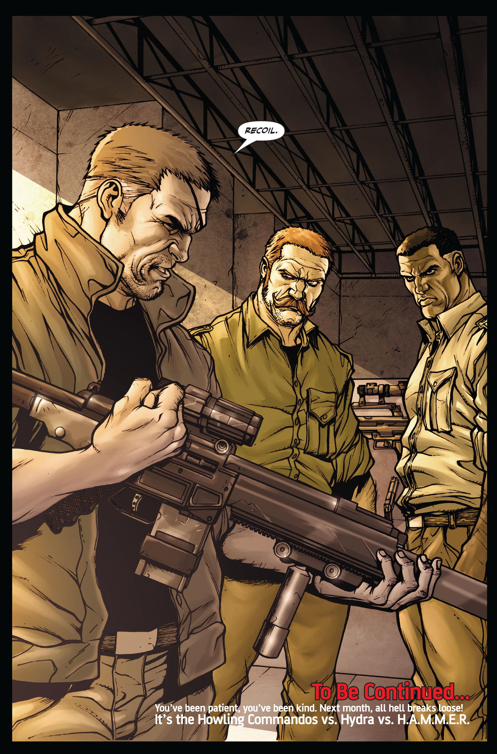 Read online Secret Warriors comic -  Issue #4 - 25