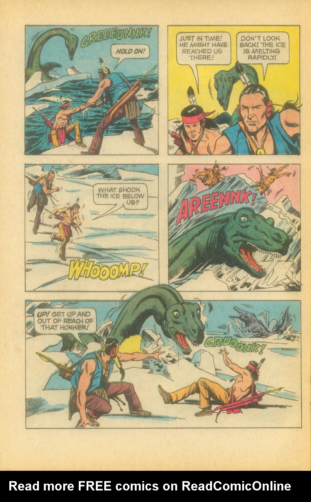Read online Turok, Son of Stone comic -  Issue #81 - 28