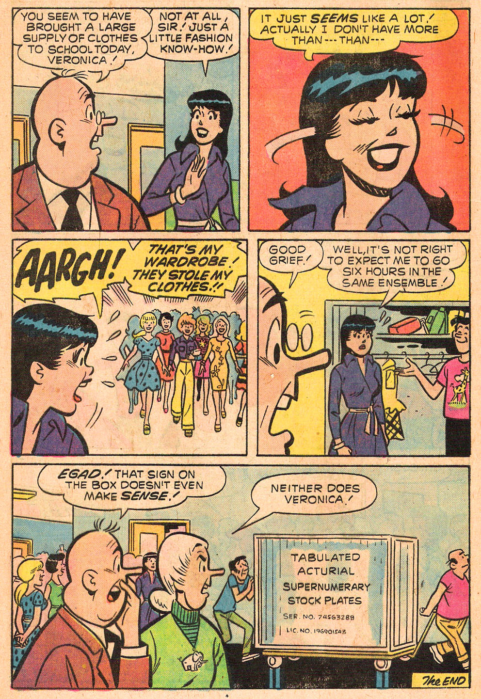 Read online Archie's Girls Betty and Veronica comic -  Issue #241 - 8