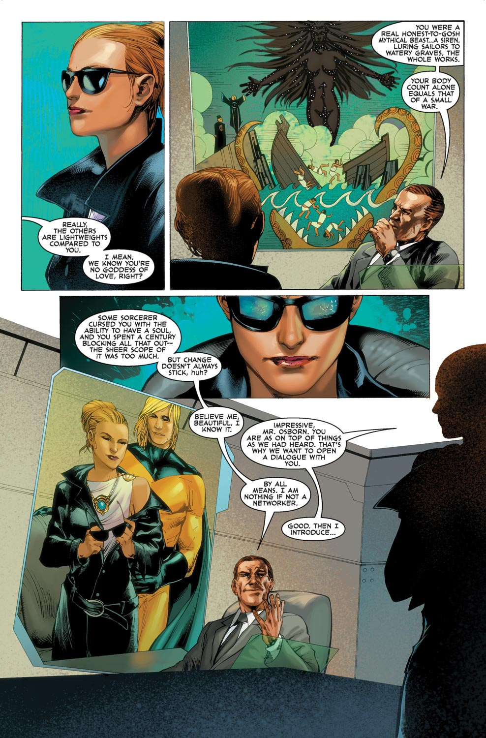 Read online Agents Of Atlas (2009) comic -  Issue #1 - 14