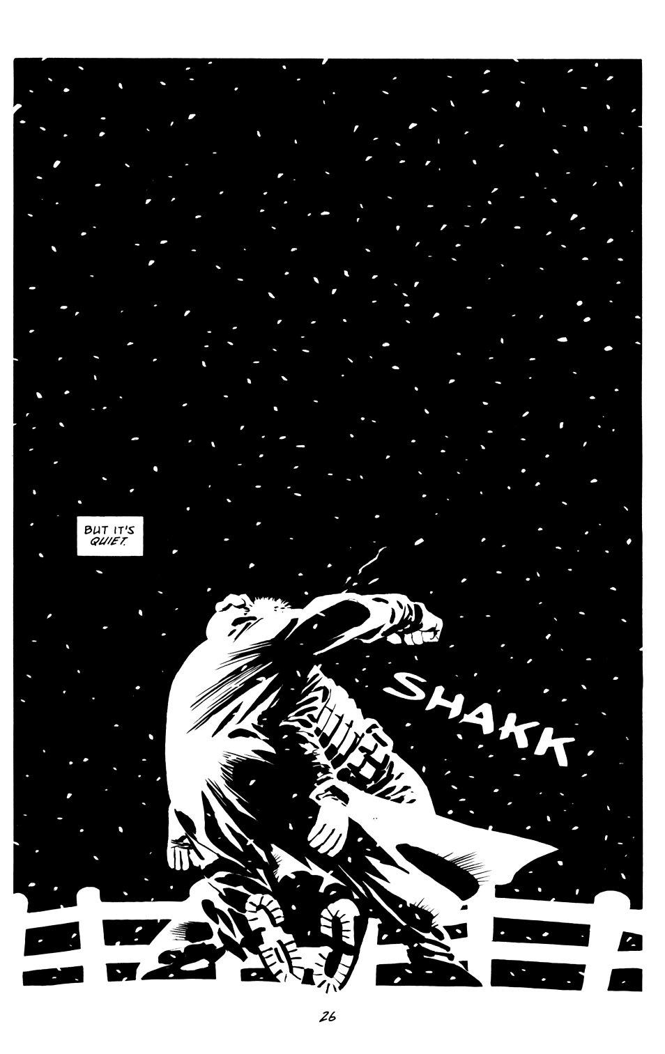 Read online Sin City: That Yellow Bastard comic -  Issue #6 - 26