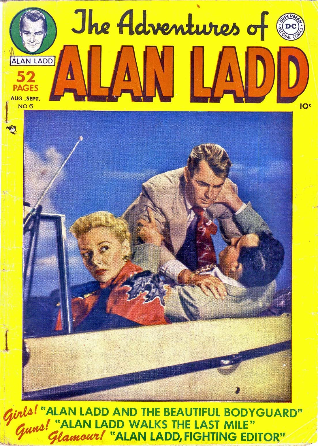 Adventures of Alan Ladd issue 6 - Page 1