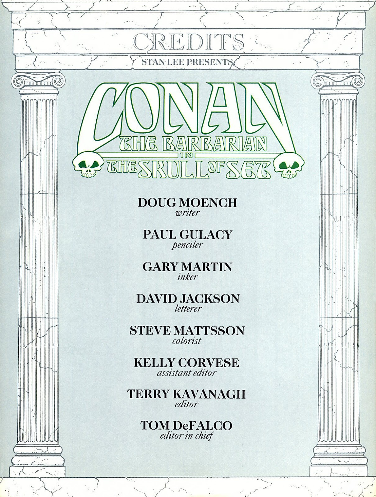 Read online Marvel Graphic Novel: Conan the Barbarian: The Skull of Set comic -  Issue # Full - 2