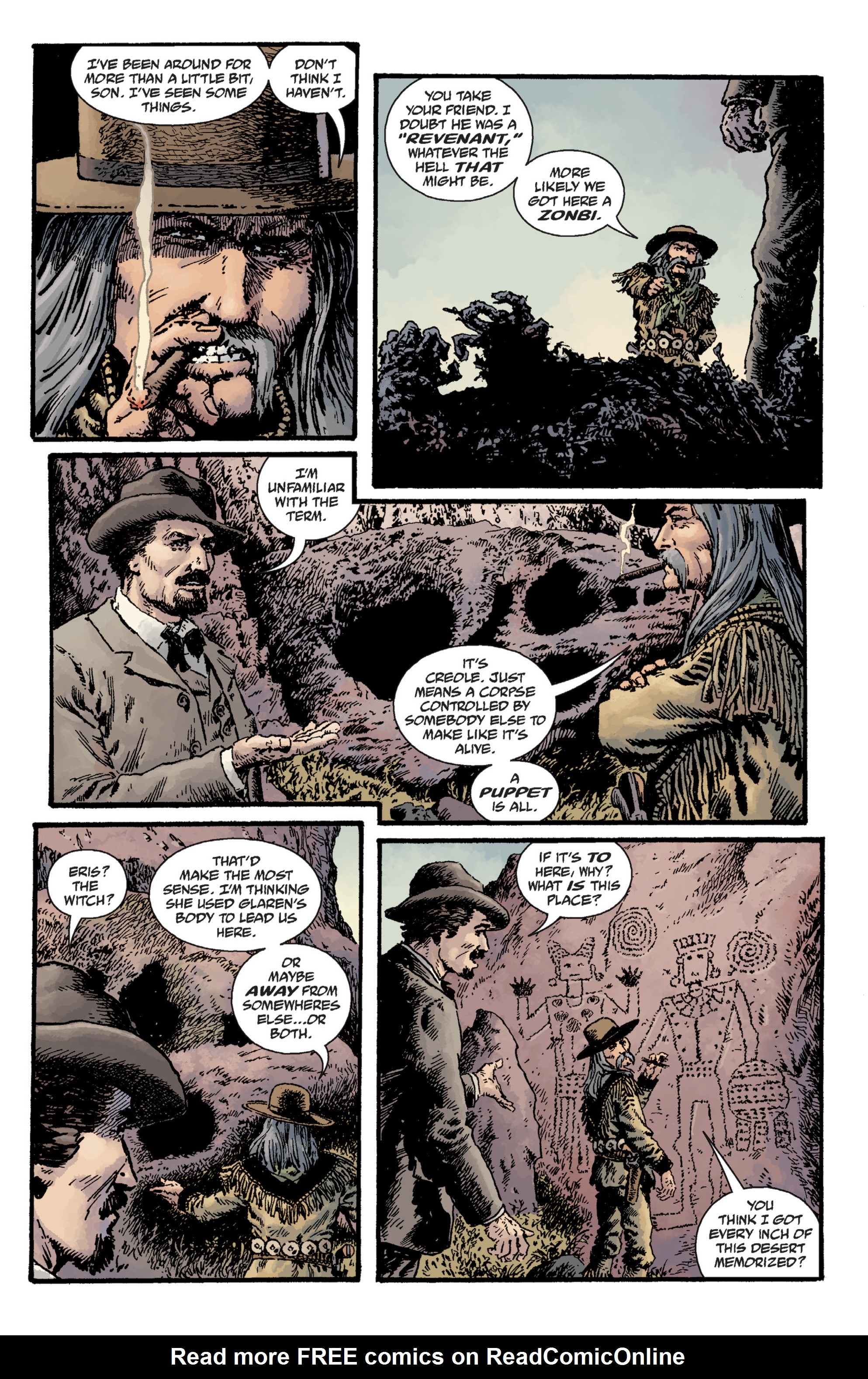 Read online Sir Edward Grey, Witchfinder: Lost and Gone Forever comic -  Issue # TPB - 61