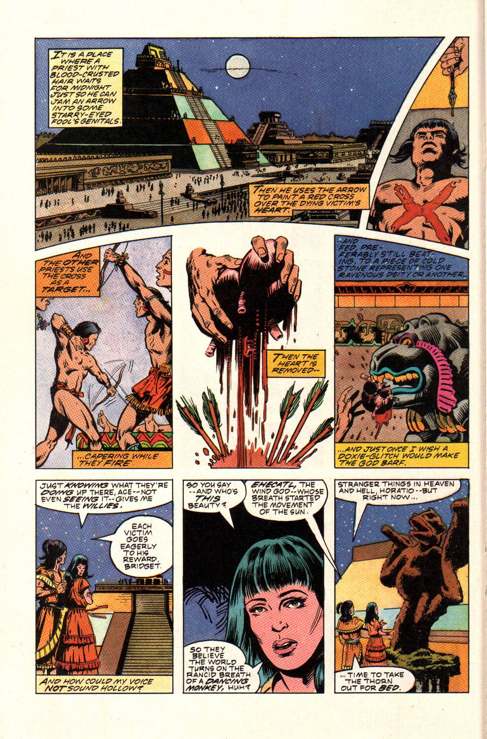 Read online Aztec Ace comic -  Issue #9 - 14