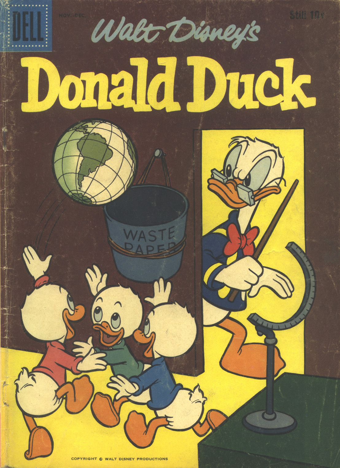 Walt Disney's Donald Duck (1952) issue 62 - Page 1