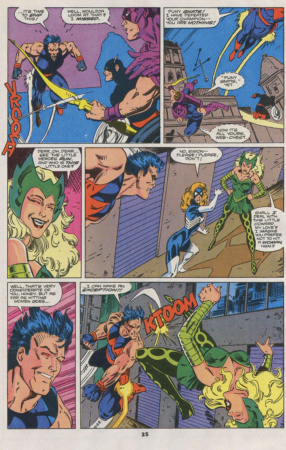 Read online Wonder Man (1991) comic -  Issue #2 - 20