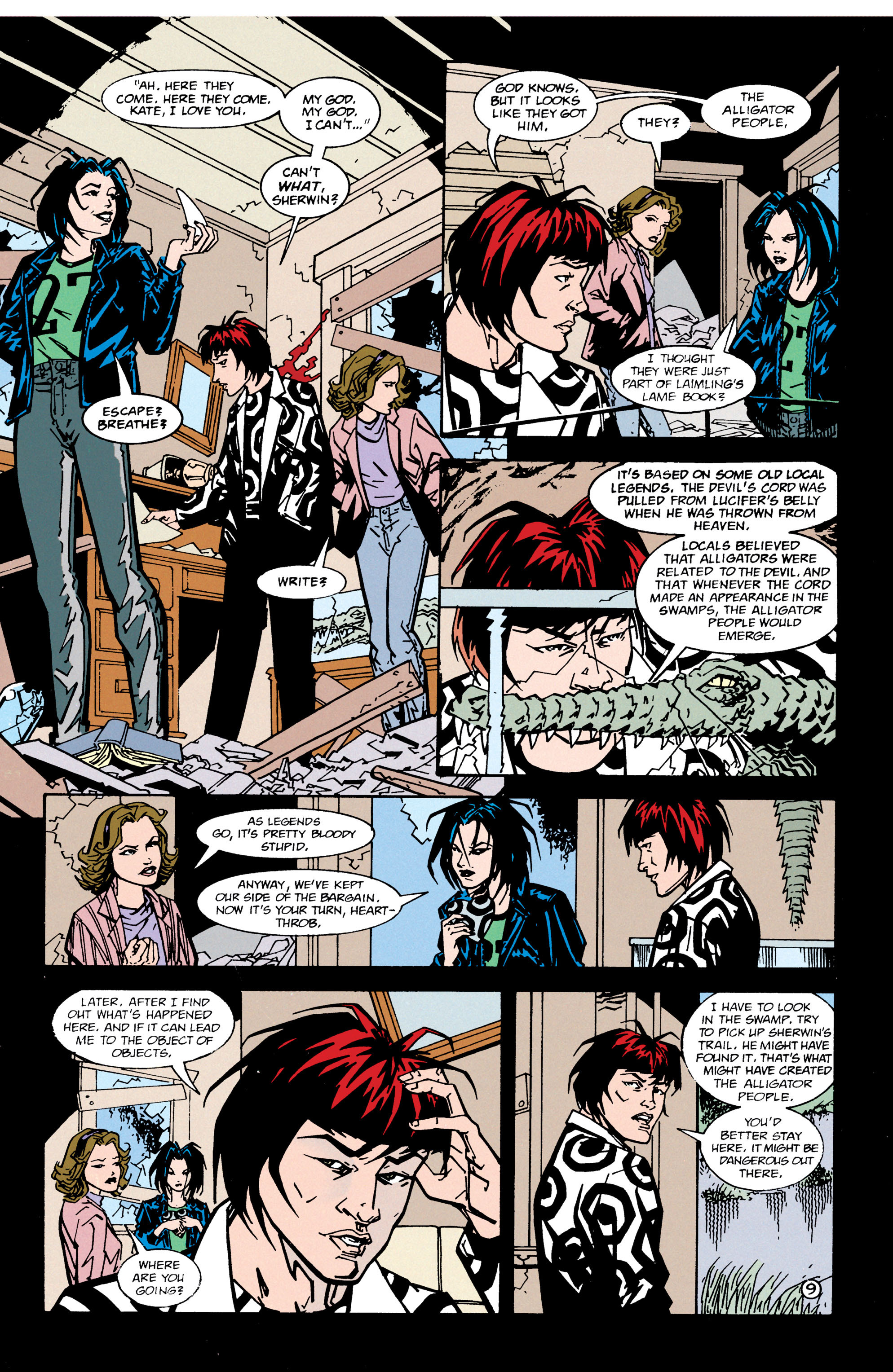 Read online Shade, the Changing Man comic -  Issue #66 - 10