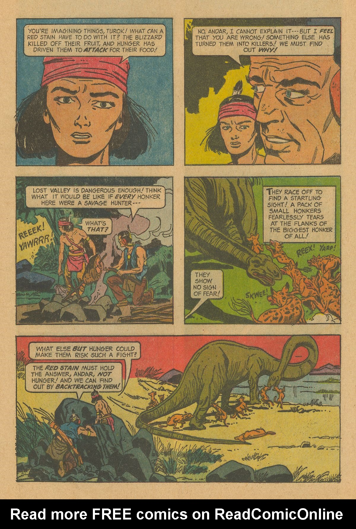 Read online Turok, Son of Stone comic -  Issue #38 - 25