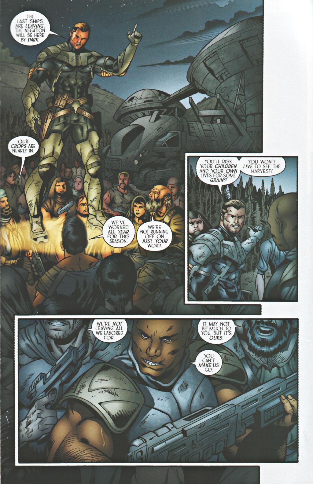 Read online Sigil (2000) comic -  Issue #41 - 18