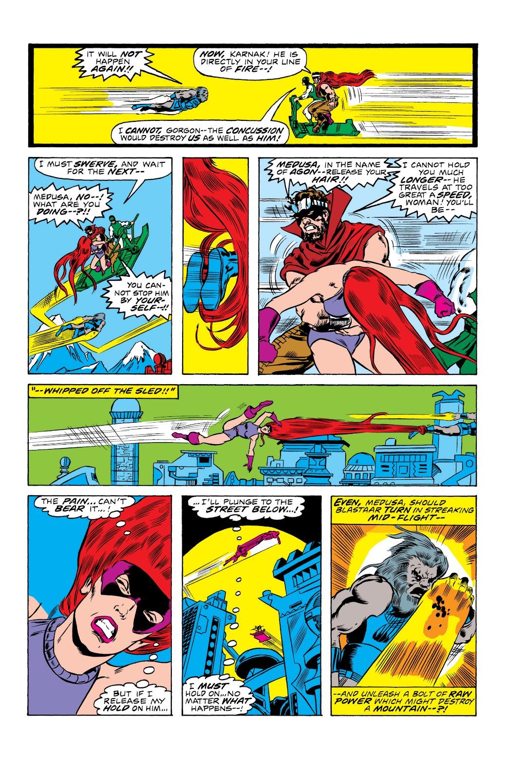 Read online Marvel Masterworks: The Inhumans comic -  Issue # TPB 2 (Part 1) - 24
