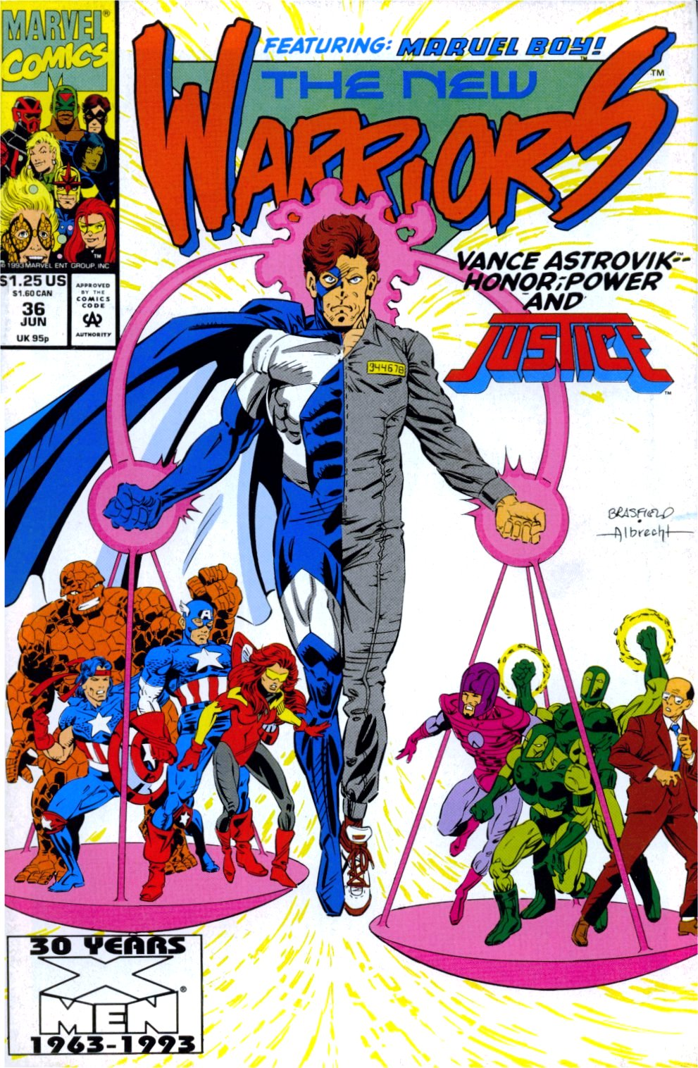 The New Warriors Issue #36 #40 - English 1