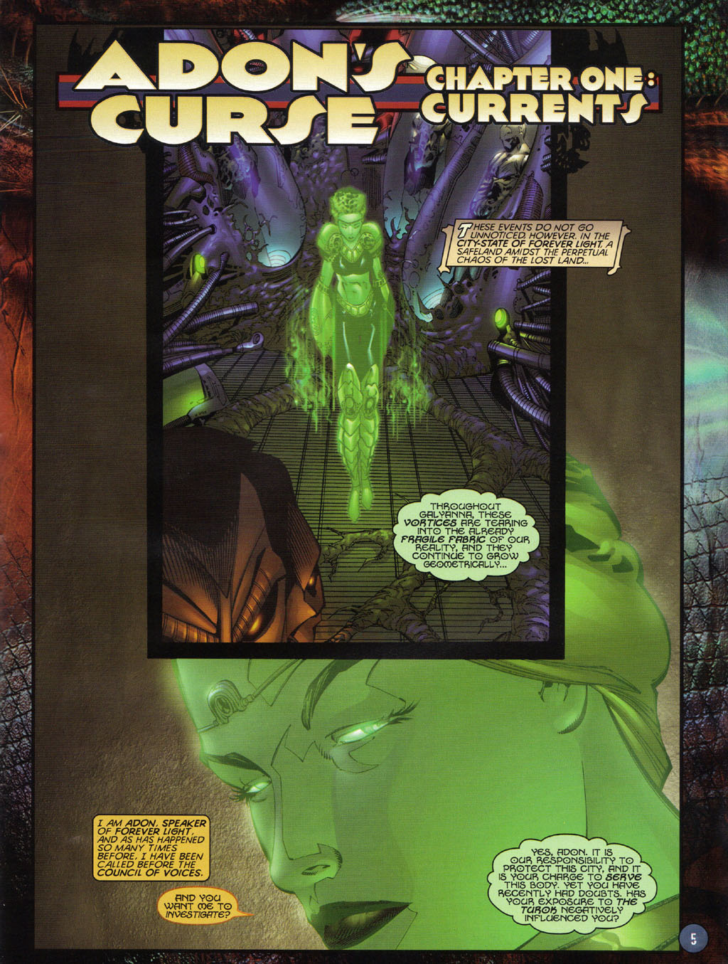 Read online Turok 2: Adon's Curse comic -  Issue # Full - 6