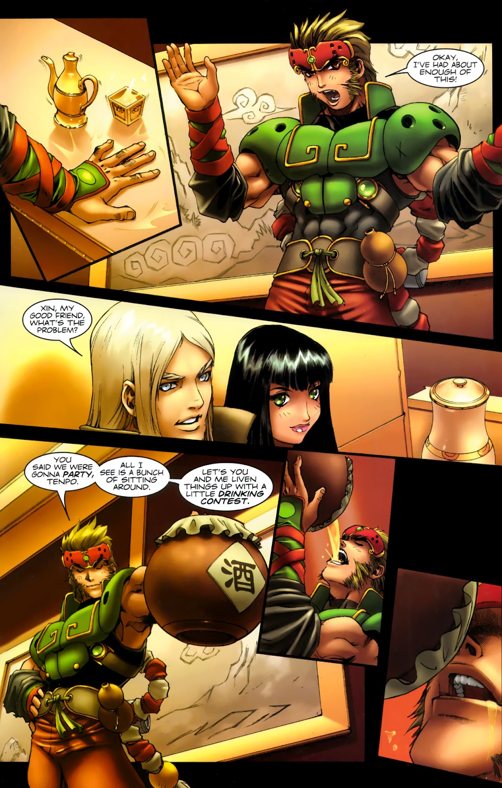Read online Xin: Journey of the Monkey King comic -  Issue #1 - 20