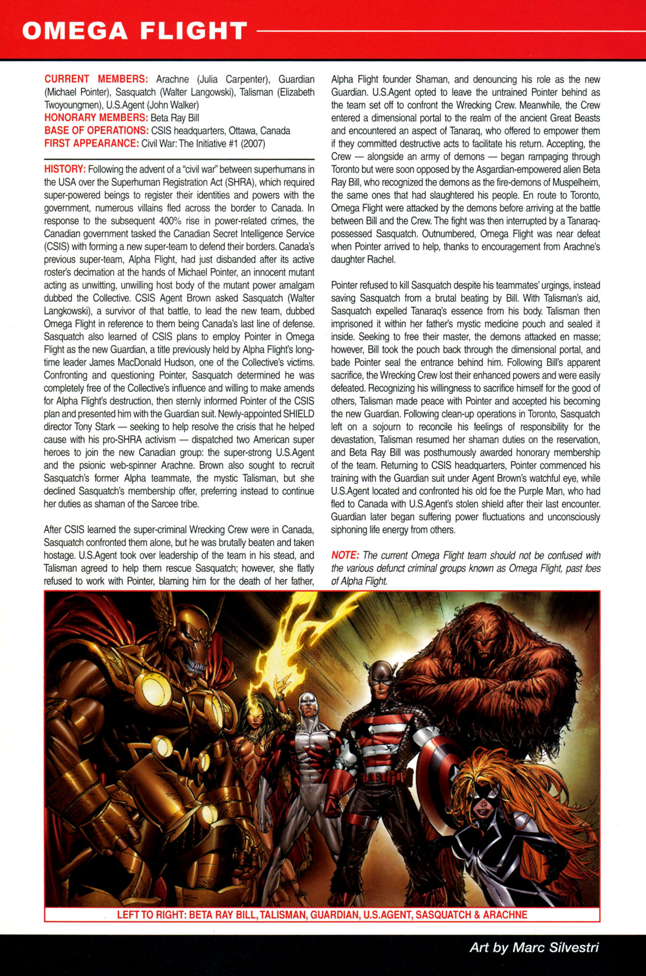 Read online All-New Official Handbook of the Marvel Universe A to Z: Update comic -  Issue #4 - 30